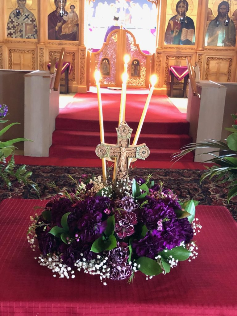 Sunday of Cross 2020 St. Nicholas Orthodox Church, English Language Orthodox Church Toronto, Orthodox Services English