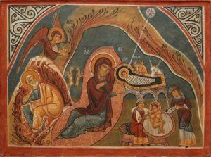 Nativity Icon-St. Nicholas Orthodox Church Scarborough, English Language Orthodox Church Service