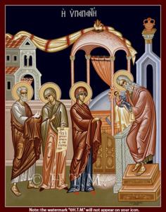Icon Meeting Lord-St. Nicholas Orthodox Church Scarborough, English Language Orthodox Church Toronto, Orthodox Services