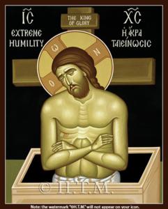 Extreme-Humility Icon St. Nicholas Orthodox Church Scarborough, English Language Orthodox Church Toronto, Orthodox